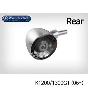 분덜리히 K1200/1300GT (06-) Kellerman Bullet 1000 (piece) - rear - matt chrome