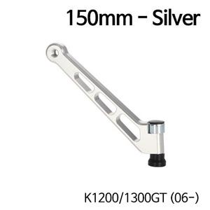분덜리히 K1200/1300GT (06-) MFW mirror stem - 150mm - silver