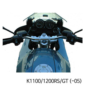 분덜리히 K1100/1200RS/GT (-05) Superbike sportego top yoke - silver