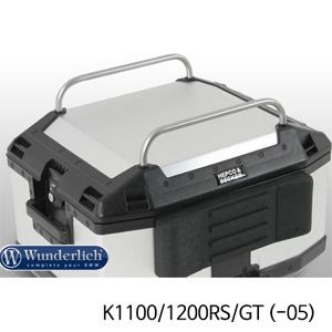 분덜리히 K1100/1200RS/GT (-05) Top case railing Xplorer - silver