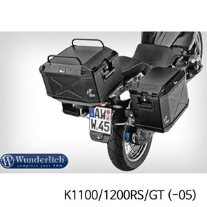 분덜리히 K1100/1200RS/GT (-05) Top case railing Xplorer - black