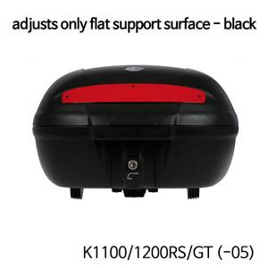 분덜리히 K1100/1200RS/GT (-05) Top Case TC 50 with adapter plate   adjusts only flat support surface - black