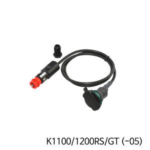 분덜리히 K1100/1200RS/GT (-05) Tank bag power supply (straight socket) - Straight plug