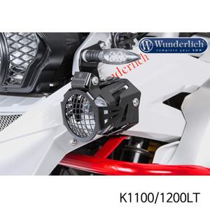 분덜리히 K1100/1200LT Auxiliary light protection grill ATON - Set - black
