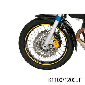 분덜리히 K1100/1200LT Wheel rim stickers - yellow