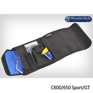 분덜리히 BMW C600/650 Sport/GT Tank bag organizer ELEPHANT 블랙색상