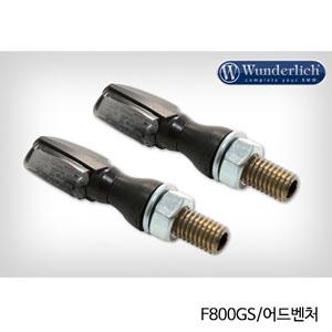 분덜리히 F800GS/어드벤처 LED tail light indicator pair SPARK tinted 블랙색상