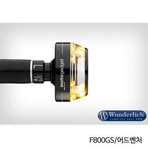 """분덜리히 F800GS/어드벤처 Motogadget """"m-Blaze Disc"""" indicator 좌측용 블랙색상"""
