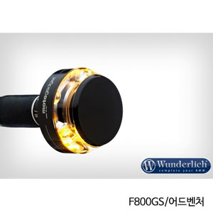"""분덜리히 F800GS/어드벤처 Motogadget """"m-Blaze Disc"""" indicator 우측용 블랙색상"""