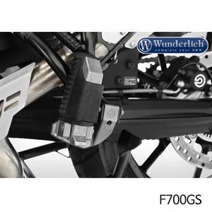 분덜리히 F700GS 텐덤발판 lowering kit 티탄색상