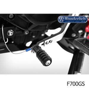 분덜리히 F700GS 체인지레버 CleverLever gear shift lever 실버색상