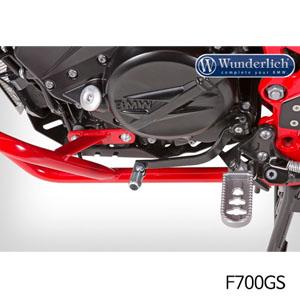분덜리히 F700GS 체인지레버 Gear shift lever foldable 블랙색상