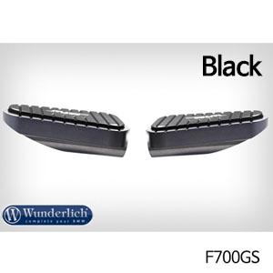 분덜리히 F700GS MFW Vario rest system footrest MultiGrip (pair) 블랙색상