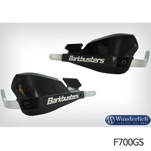 분덜리히 F700GS 핸들가드 Barkbusters 블랙색상