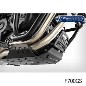 분덜리히 F700GS 엔진 프로텍션 플레이트 Dakar 블랙색상