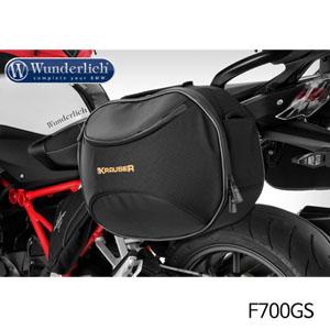 분덜리히 F700GS KRAUSER softcase pannier system Street 셋트 블랙색상