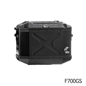 분덜리히 F700GS 사이드 알루미늄 케이스 Krauser Xplorer 30litres 우측 블랙색상