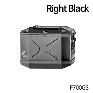 분덜리히 F700GS 사이드 케이스 Xplorer 40 litres 우측 블랙색상