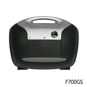 분덜리히 F700GS Krauser Journey case set for all Hepco & Becker and Krauser carrier 블랙/실버색상