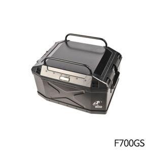 분덜리히 F700GS 탑케이스 Xplorer 45litres 블랙색상