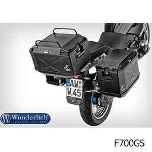 분덜리히 F700GS Top case railing Xplorer 블랙색상