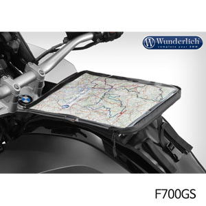 분덜리히 F700GS Replacement map holder for Elephant 탱크백