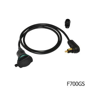 분덜리히 F700GS 탱크백 (right-angle plug ) - Angled plug