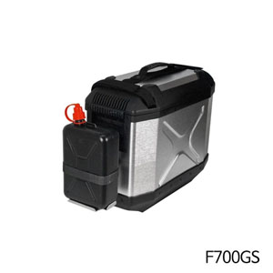 분덜리히 F700GS 2litre canister incl. support