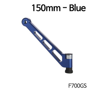 분덜리히 F700GS MFW mirror stem - 150mm 블루색상