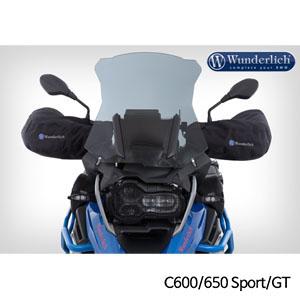 분덜리히 BMW C600/650 Sport/GT 핸들 워머 토시 블랙색상