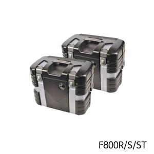 분덜리히 F800R/S/ST GOBI Case Set Black Edition 블랙/실버에디션