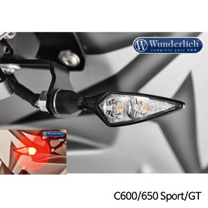 분덜리히 BMW C600/650 Sport/GT Kellermann Micro Rhombus PL indicator - 프론트 왼쪽