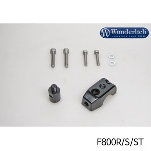 분덜리히 F800S/ST Mirror clamp for additional mirror (Set) 블랙색상